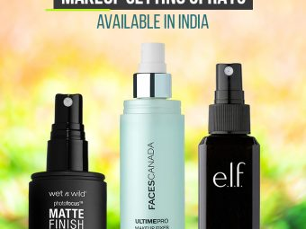 10 Best Makeup Setting Sprays Available In India