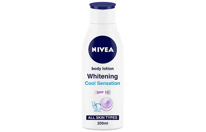 Nivea Body Lotion Whitening Cool Sensation