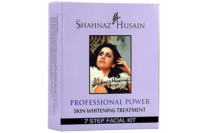 Shahnaz Husain Skin Whitening Treatment 7-Step Facial Kit