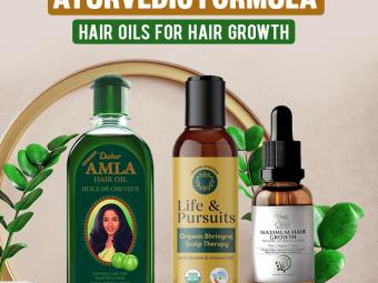 11 Best Ayurvedic Hair Oils For Quick Hair Growth