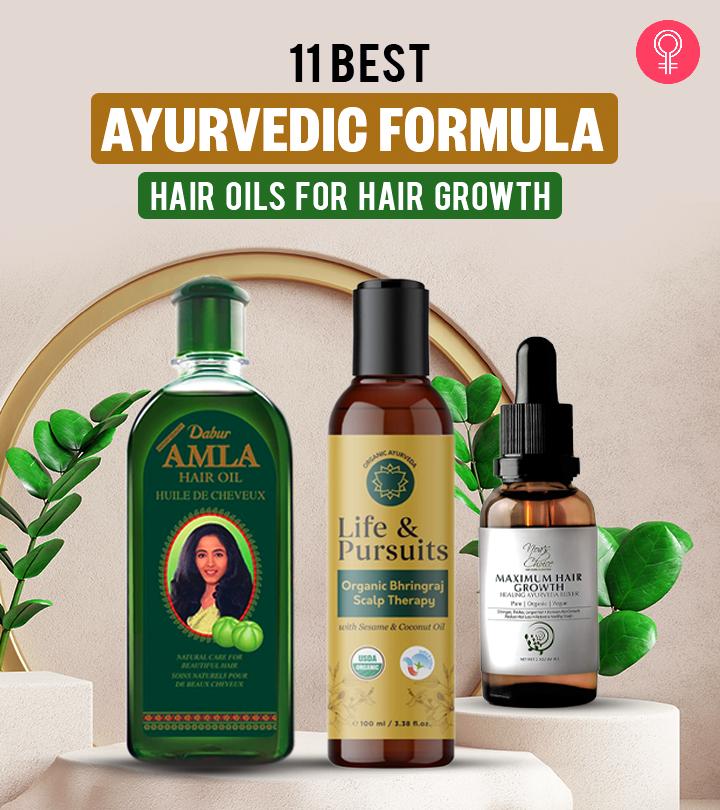 11 Best Ayurvedic Formula Hair Oils For Hair Growth