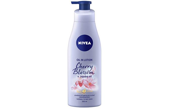 Nivea Oil in Lotion - Cherry Blossom & Jojoba Oil