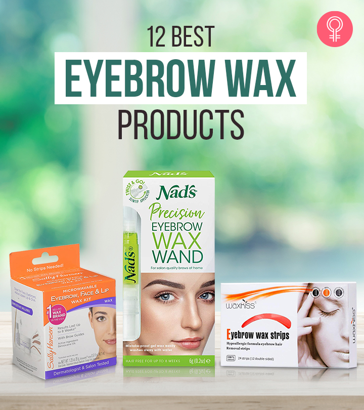 12 Best Eyebrow Wax Products – 2021 Update