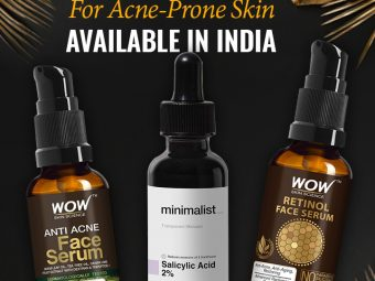 12 Best Serums For Acne-Prone Skin Available In India