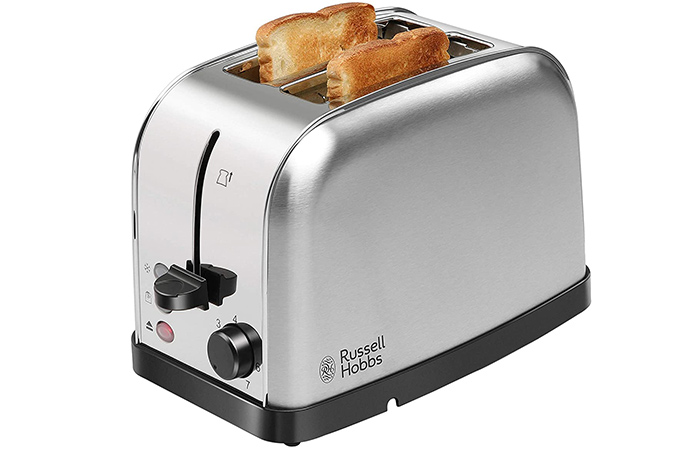 Russell Hobbs 18780 2 Slice Automatic Pop-Up Toaster