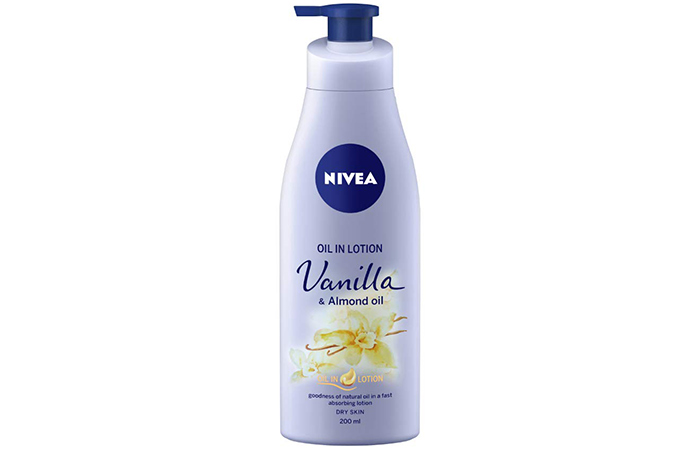 Nivea Oil in Lotion -Vanilla & Almond Oil