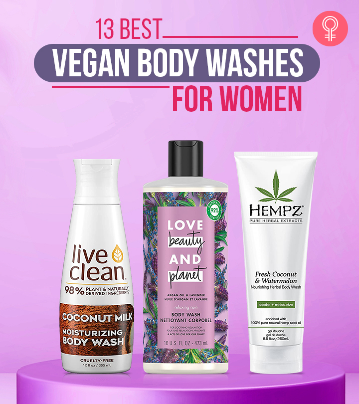 13 Best Recommended Vegan Body Washes Of 2021