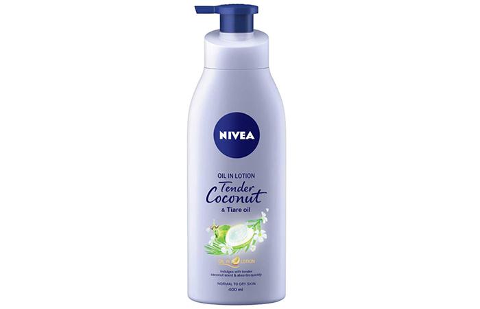 Nivea Oil In Lotion Tender Coconut & Tiare Oil Body Lotion