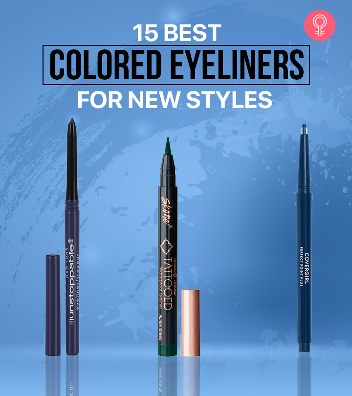 15 Best Colored Eyeliners For New Styles – 2021