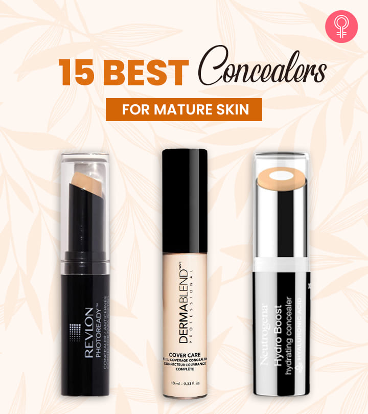 15 Best Concealers For Mature Skin – 2021 Update