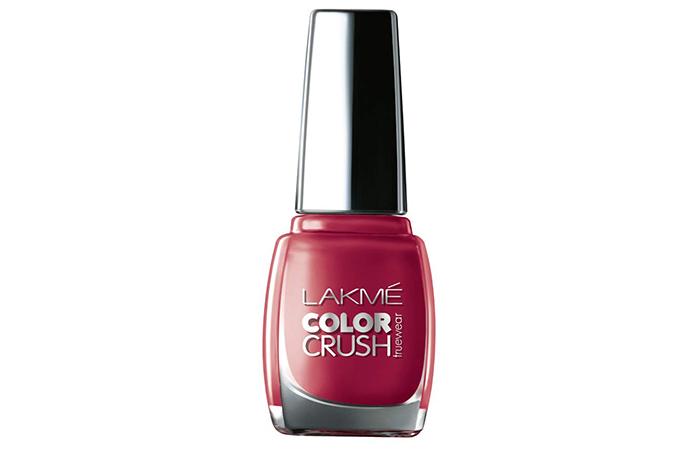 Lakmé True Wear Color Crush Nail Color – Shade 43