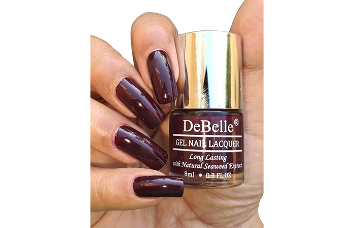 DeBelle Gel Nail Lacquer – Glamorous Garnet