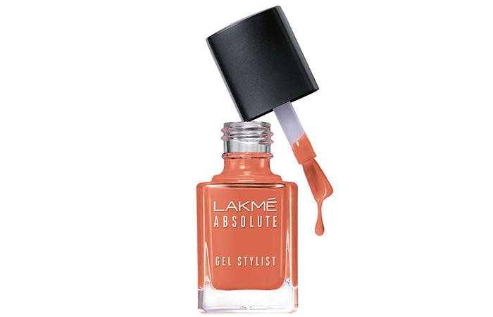 Lakmé Absolute Gel Stylist Nail Color – Beige Nude