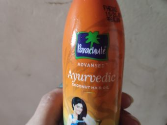 Parachute Advansed Ayurvedic Coconut Hair Oil -Awesome product-By navbamrah