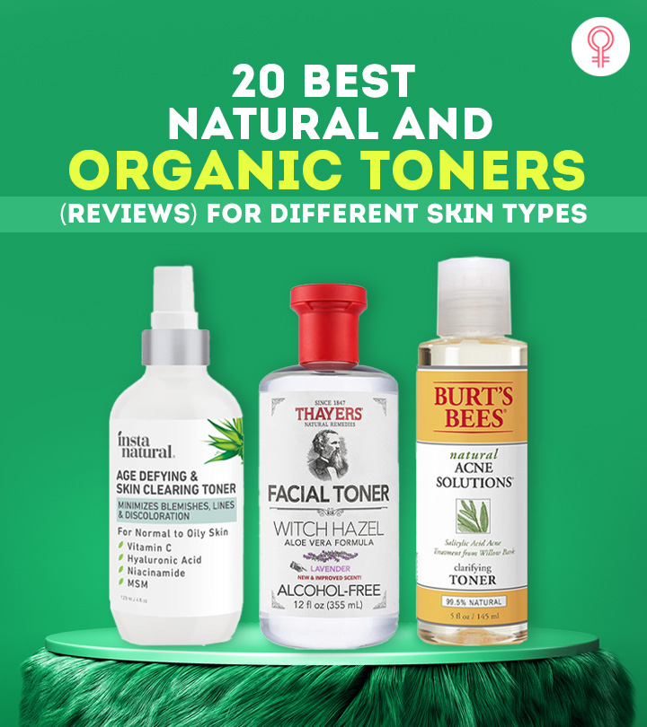20 Best Natural And Organic Toners (Reviews) For Different Skin Types