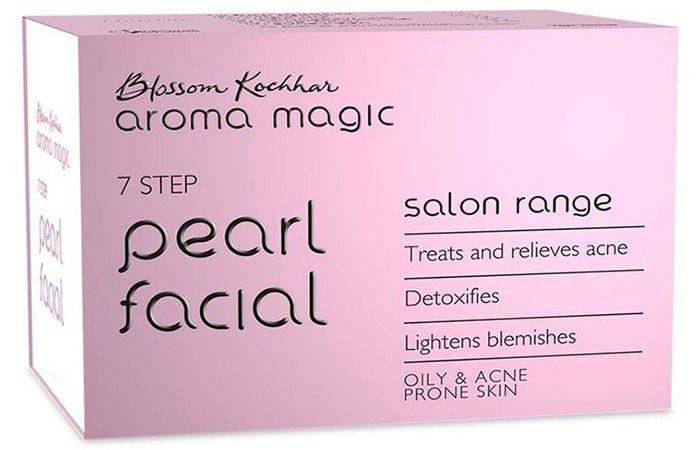 Blossom Kochhar Aroma Magic 7 Step Pearl Facial
