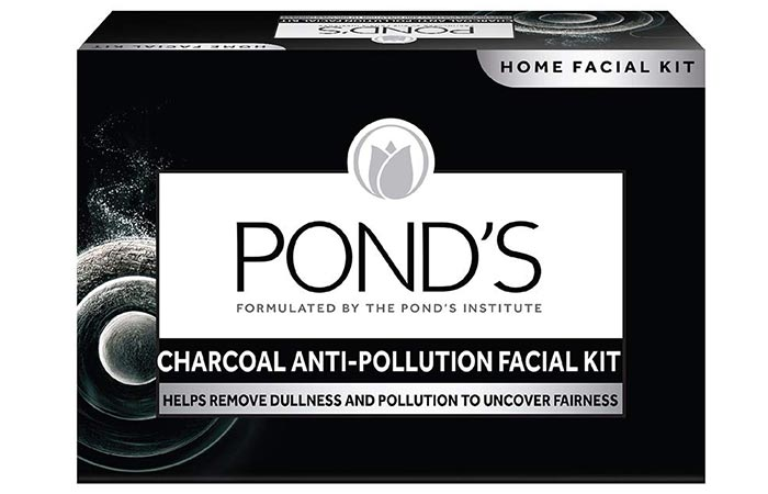 Pond's Charcoal Anti-Pollution Facial Kit