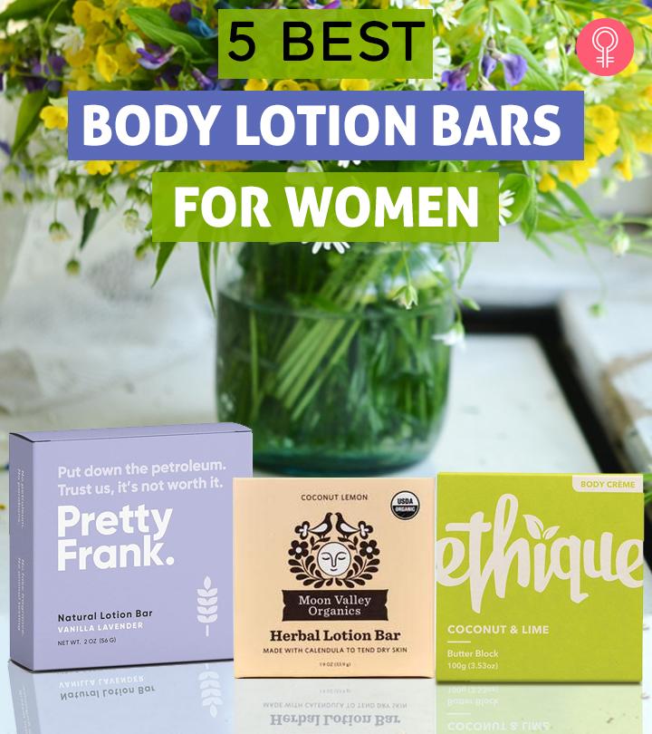 5 Best Body Lotion Bars For Women