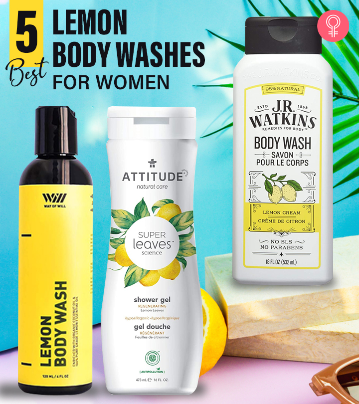 5 Best Recommended Lemon Body Washes For Women Of 2021
