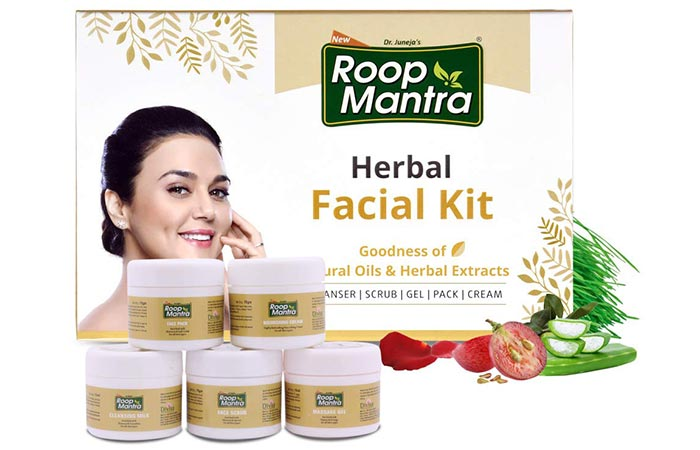 Dr. Juneja's Roop Mantra Herbal Facial Kit