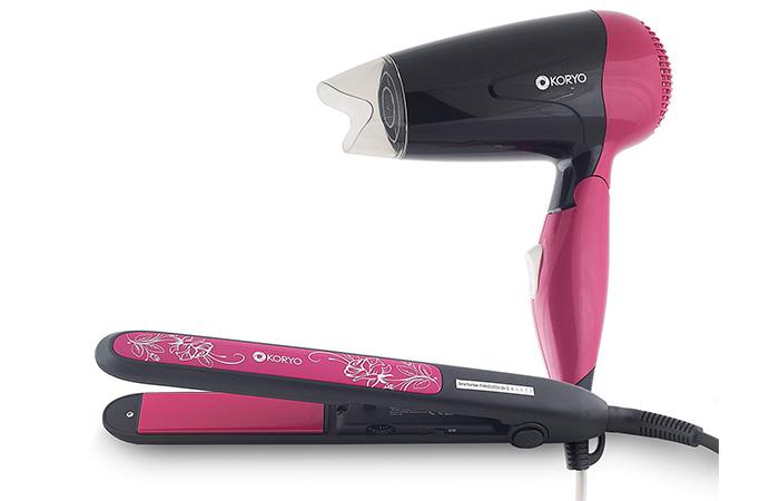 Koryo Hair Styling Combo – Hair Dryer And Straightener