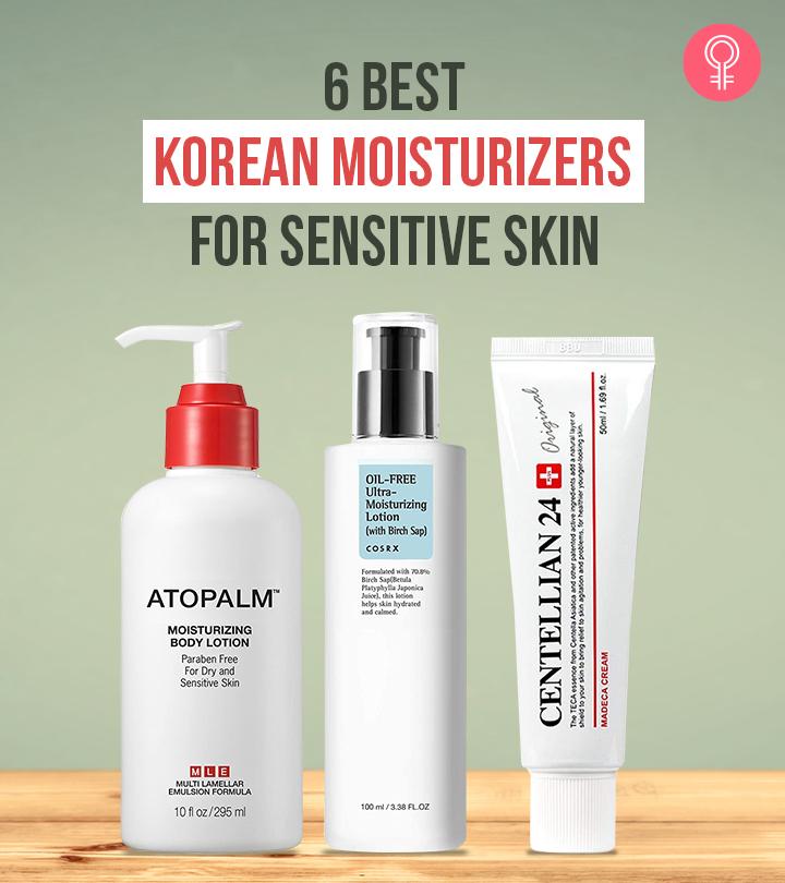 6 Best Korean Moisturizers For Sensitive Skin