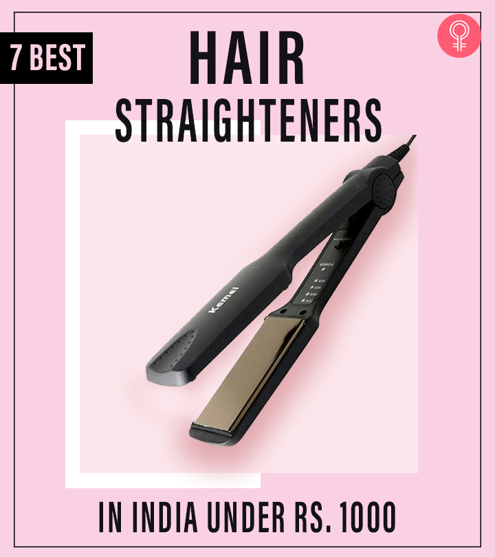 7 Best Hair Straighteners In India Under Rs. 1000