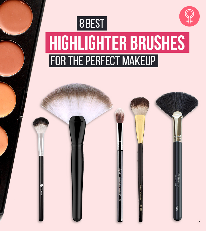 8 Best Highlighter Brushes For The Perfect Makeup