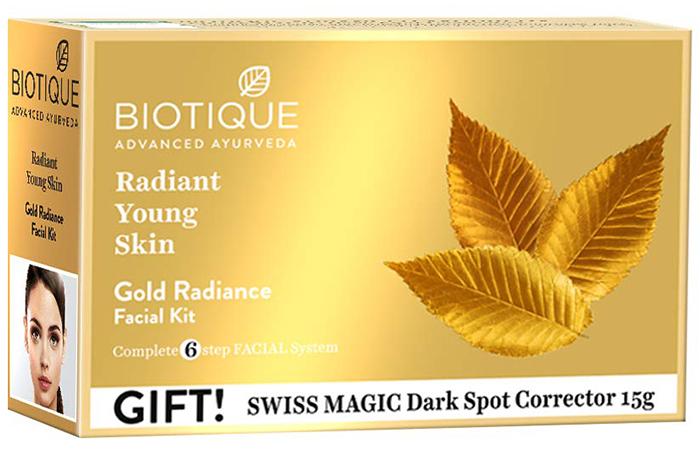 Biotique Advanced Ayurveda Bio Gold Radiance Facial Kit