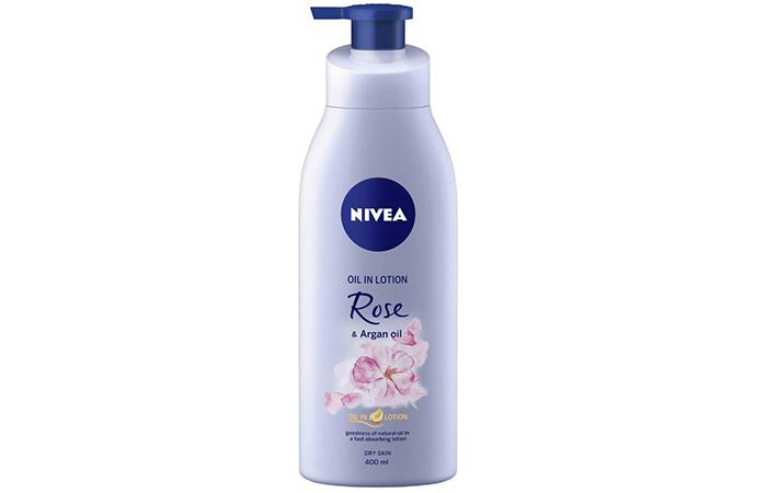Nivea Oil in Lotion - Rose & Argan Oil