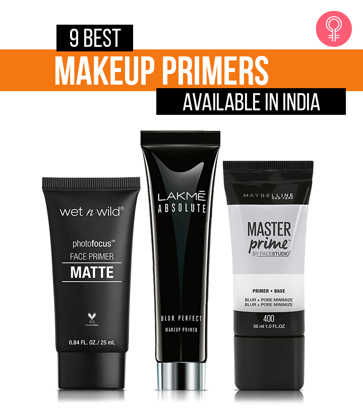 9 Best Makeup Primers Available In India