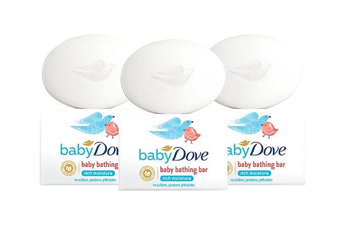 Baby Dove Rich Moisture Baby Bathing Bar