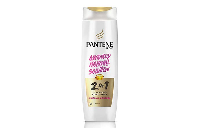 Best For Hair Fall Control Pantene Pro-V 2-in-1 Anti Hair Fall Shampoo Conditioner