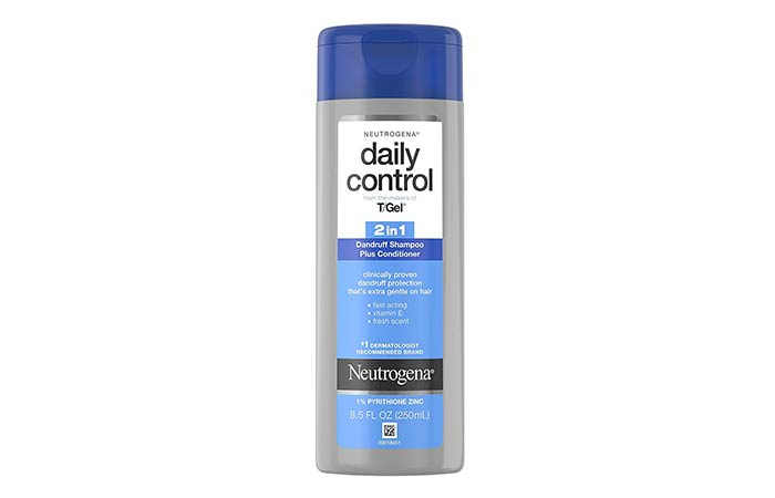 Best For Itchy Scalp Neutrogena TGel Daily Control 2-In-1 Anti-Dandruff Shampoo Plus Conditioner