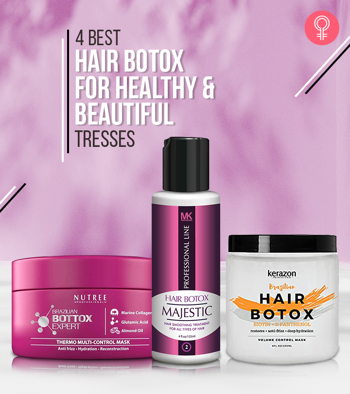 4 Best Hair Botox For Healthy And Beautiful Tresses