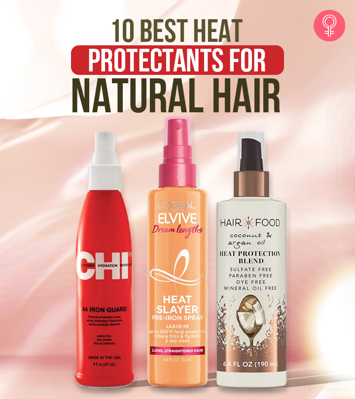 10 Best Heat Protectants For Natural Hair – 2021