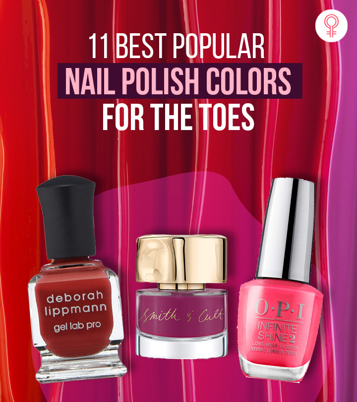 11 Best Popular Nail Polish Colors For The Toes – 2021 Update