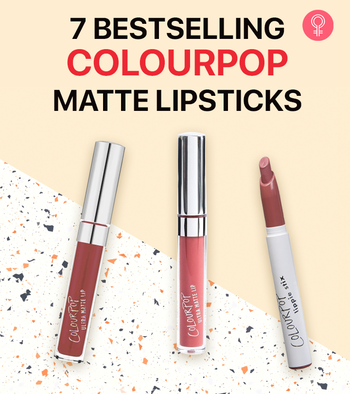 7 Bestselling Colourpop Matte Lipsticks Of 2021