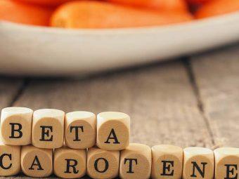 Beta Carotene Benefits In Hindi