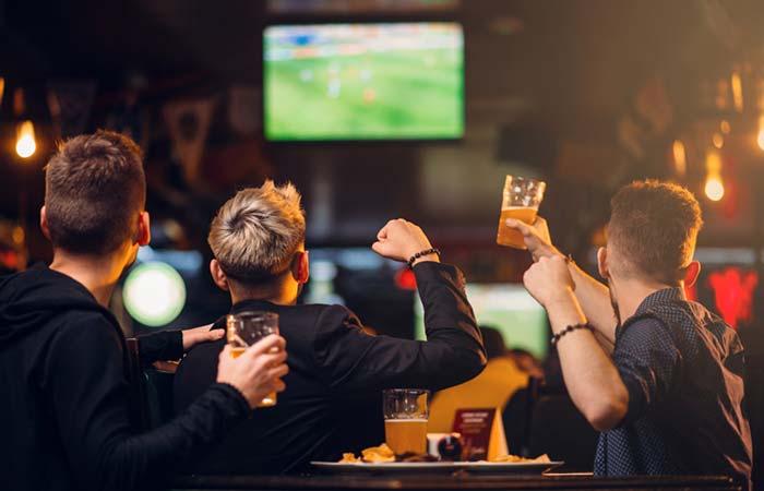 Head To A Sports Bar
