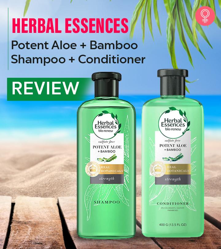 Herbal Essences Potent Aloe & Bamboo Shampoo + Conditioner Review