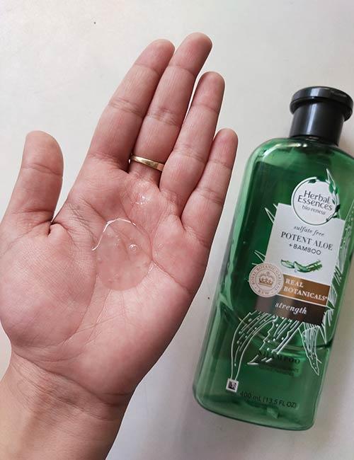 Herbal Essences Potent Aloe Bamboo Shampoo Conditioner Review-2