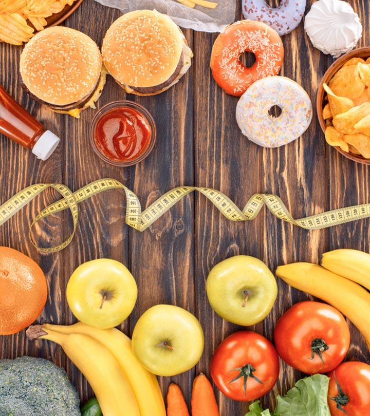 Junk Food Vs. Healthy Food