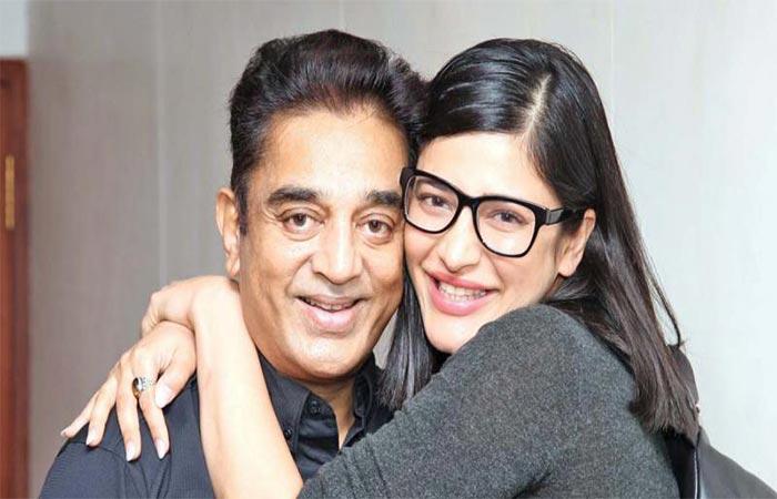 Kamal Haasan And Shruti Haasan