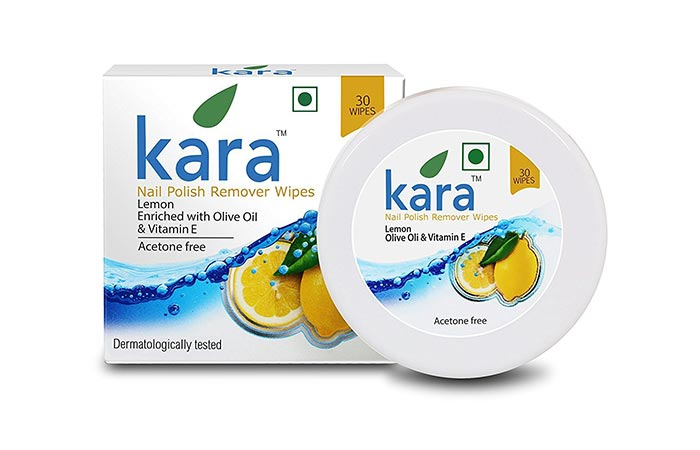 Kara Nail Polish Remover Wipes