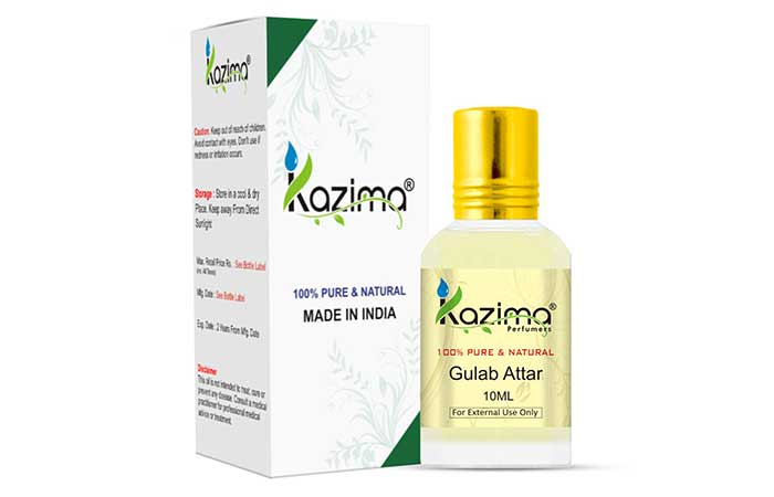 Kazima Perfumers - Gulab Attar