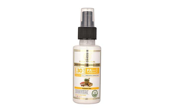 Khadi Natural Moisturizing Sunscreen Lotion