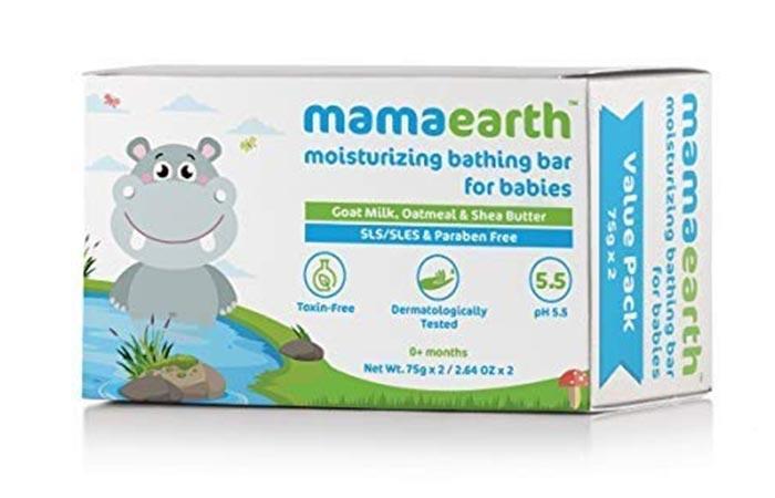 Mamaearth Moisturizing Bathing Bar For Babies
