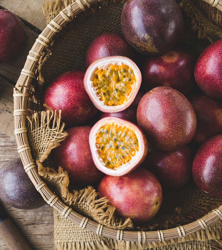 कृष्णा फल (पैशन फ्रूट) के 13 फायदे, उपयोग और नुकसान – Passion Fruit Benefits and Side Effects in Hindi