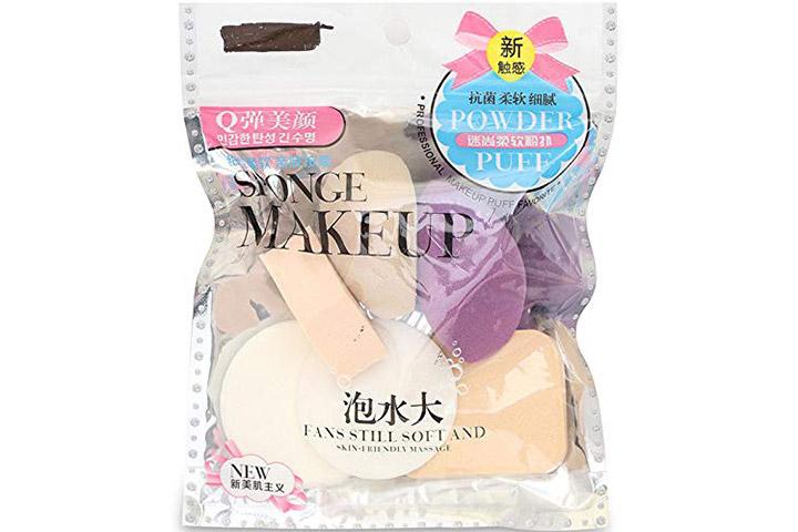 Squared Sponge Makeup Powder Puff